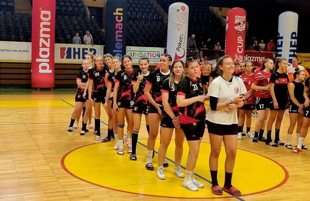 Sportska Hrvatska Rukometasice Udarnika pobjednice Sportskih igara mladih